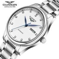 Thương hiệu nổi tiếng guanqin men cơ xem ngày luxury thương hiệu đồng hồ sapphire nam giới bán đồng hồ chống thấm nước relogio masculino reloj