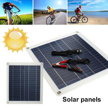 Durable Portable Solar Panel 25W 18V DC Port Fast Charger Solar Panel Emergency Power Supply For Outdoor Activity