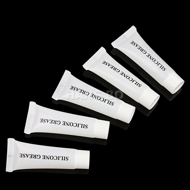 5 Pcs/Set Automobile Silicone Grease Sealing Fillers Oil For Car Skylight,Gear Lnstrument,Line 10g