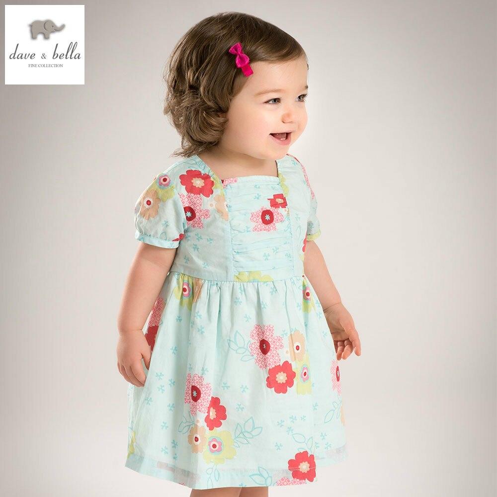 DB4491 dave bella summer baby girl wedding dress baby sweet princess ...
