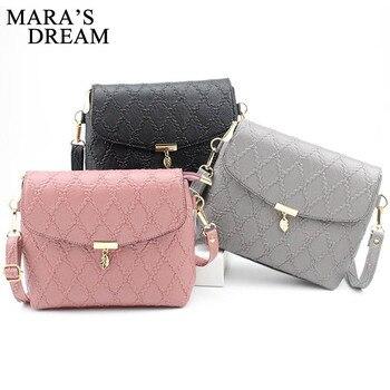 Mara's Dream Handbags Women Leather Mini Shoulder Crossbody Bag Sac a Main Femme Ladies Messenger Bag Long Strap Female Clutchs