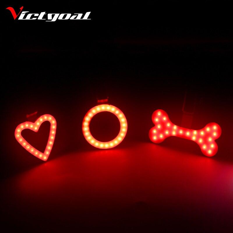 VICTGOAL Bike Rear Light Night Cycling Led Taillight Mountain Road Bike <font><b>Saddle</b></font> Safety Light MTB Back Lights Lamp Backlight M1018