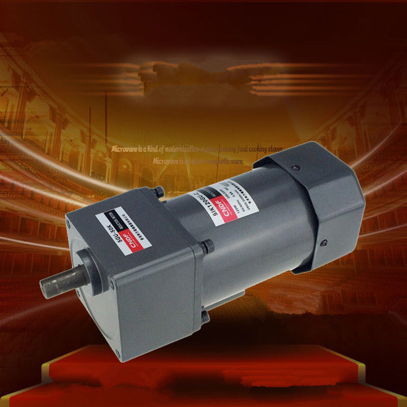 110V 200V/220V/230V 380V AC Vertical Micro Gear Motor 120W 5IK120GN Constant Speed 5GU 7RPM-450RPM 15w 220v micro reversible motor ac gear motor ac gear motor ac reversible motor ratio 200 1 output speed is 9 rpm 70mm