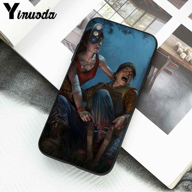 Yinuoda Toten durch Tageslicht Nach Foto Weiche Telefon Fall für iPhone X XS MAX 6 6S 7 7plus 8 8Plus 5 5S XR