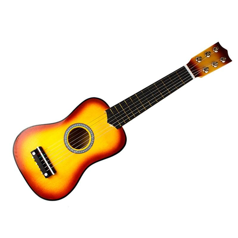 kualitas tinggi alat musik anak anak mainan gitar 21 vokal profesional 6 string bass