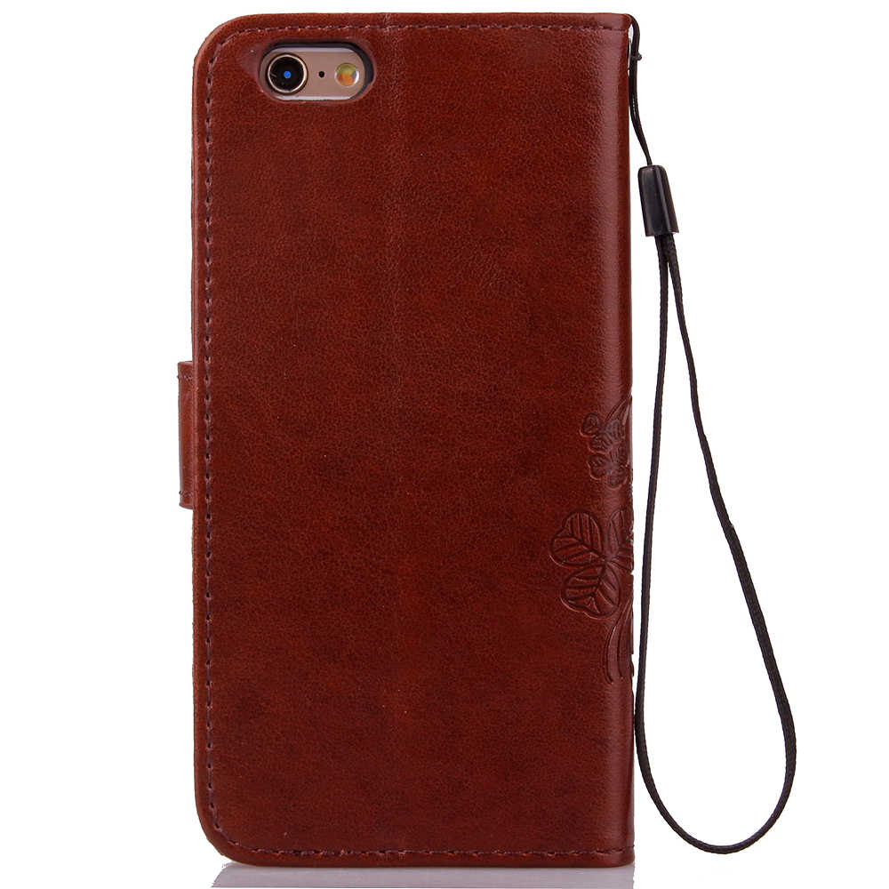 Retro de lujo de cuero PU caso para G3 G4 estilo G5 cartera estilo tirón cubierta con titular de la tarjeta BOB Coque funda para teléfono Vendita Calda