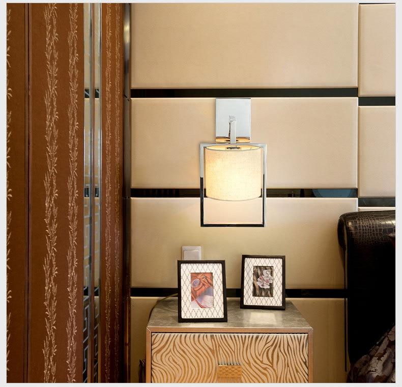 E27 LED Modern Wall Light Bulb Lamps 110V 220V Home Decor Restroom Bath Bedroom Reading Wall Lamp Hotel Light Sconces WWL099