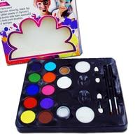 12 Colors/2SET Face Body Paint Kits Professional 12 Color Palette FDA Approved