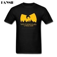 Rock Roll Music Wu Tang Clan Men T Shirt Classical Style Tshirt Men Male Short Sleeve