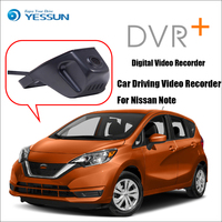 YESSUN Car DVR Digital Video Recorder Not Reverse Parking Camera For Nissan Note Front Camera Dash Black Box HD 1080P