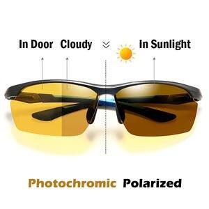 e98738f541 Men Sports Eyewear Night Photochromic Polarized Cycling Sunglasses