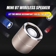 HD Noise Reduction HiFi Speakers Mini Wireless Bluetooth Speaker with TWS Interconnection