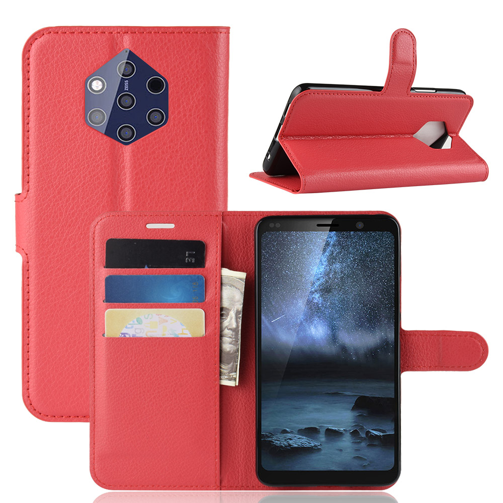 Luxury For Nokia 9 Pureview 9 Pure View Case PU Leather Cover Phone Cases On Nokia9 Pure View Nokia 9Pure Pureview TA-1094 Flip