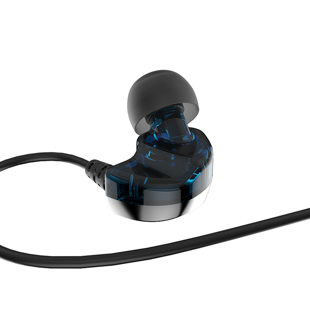 FIDUE A73s Hybrid Balanced Armature+Dynamic Driver with MIC HiFi In-Ear Earphone for Phone with 3.5mm CTIA Standard jack 2
