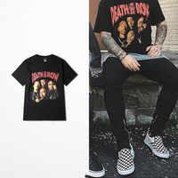 2018 Death push Punk rock koszulka męska zachodnie wybrzeże deskorolka High Road Drake 2pac śmieszny T-Shirt Hip hop odzież uliczna koszulka