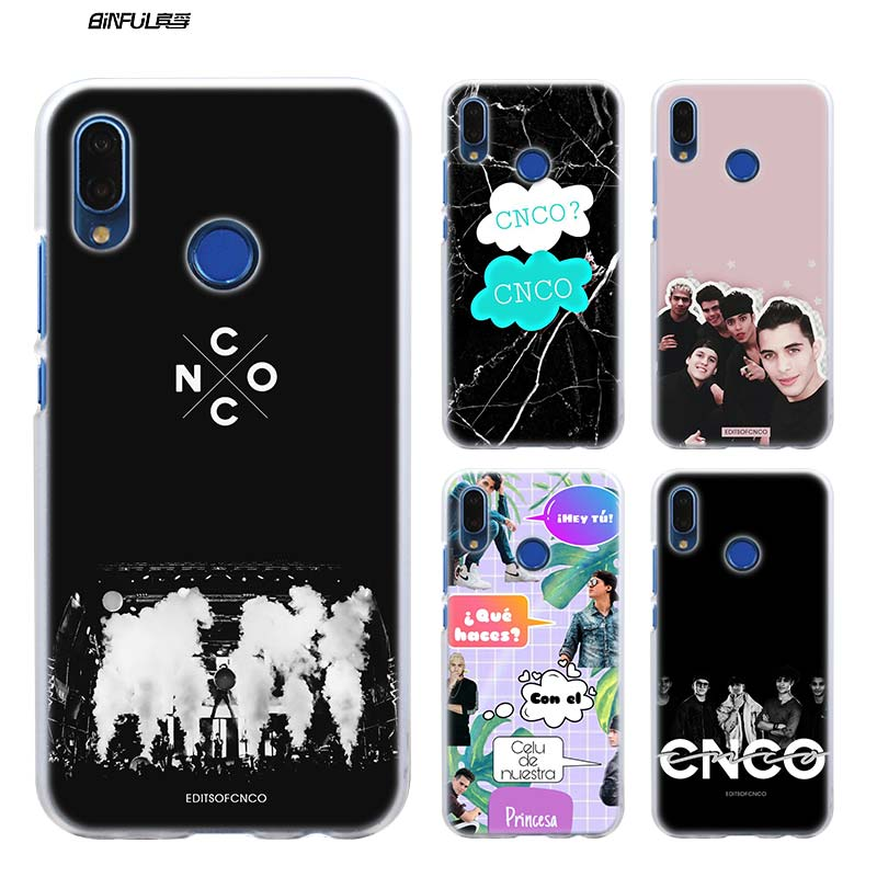 Case for Huawei P20 P Smart 2019 Nova 4 3i P30 P10 P9 P8 lite Pro Mini 2017 Hard Clear Phone Coque Cover Christopher Velez CNCO