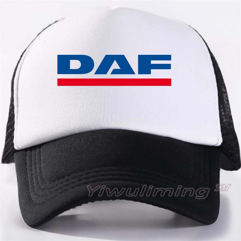 New Summer Trucker   Caps   daf Cool Summer Black Adult Cool   Baseball   Mesh Net Trucker   Caps   Hat for Men Adjustable