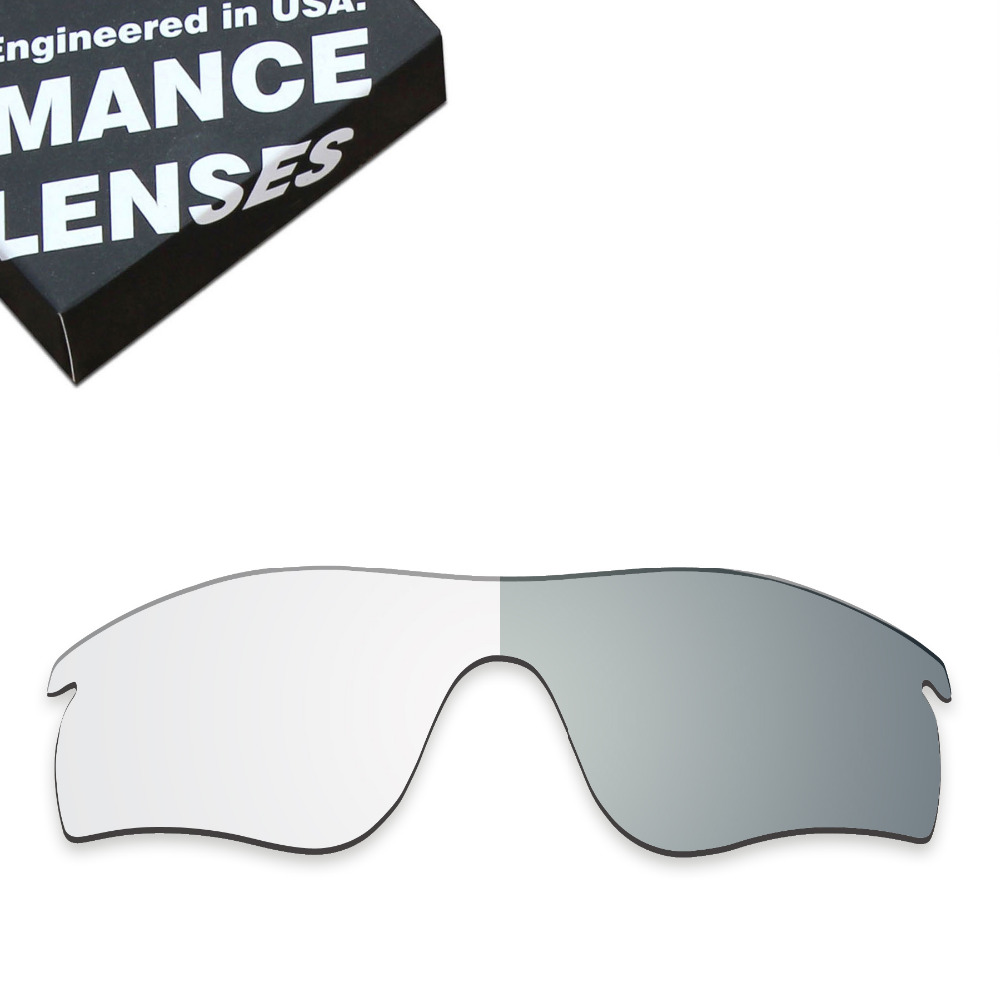 Lentes de Reposição para óculos Oakley Radarlock caminho Óculos De Sol  Fotocromáticas ToughAsNails Transparente (Lente b025ef123a64c