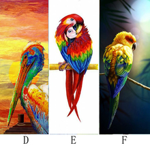 5D DIY Diamond Painting Animal & Parrot Embroidery Cross Stitch Rhinestone Mosaic cockatoo
