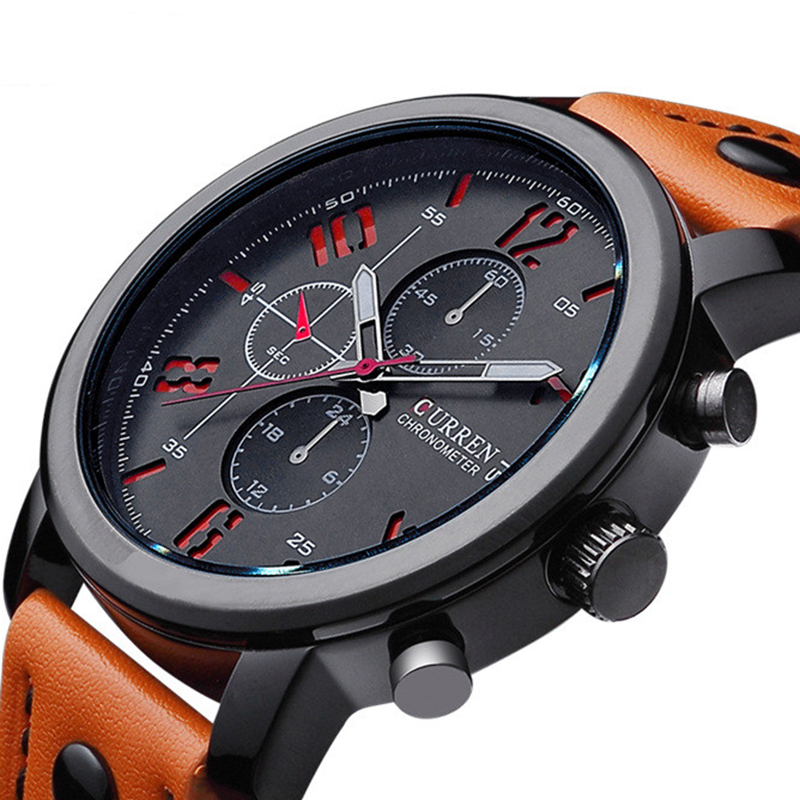Mens Watches Top Brand Luxury Quartz Watch CURREN Fashion Casual Business Watch Male Wristwatches Quartz-Watch Relogio Masculino new fashion men business quartz watches top brand luxury curren mens wrist watch full steel man square watch male clocks relogio