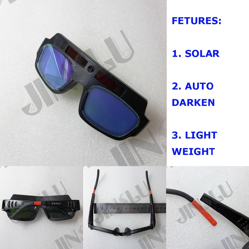 Solar Powered Auto Darkening Welding Helmet Mask Welding Glass Welding Glasses