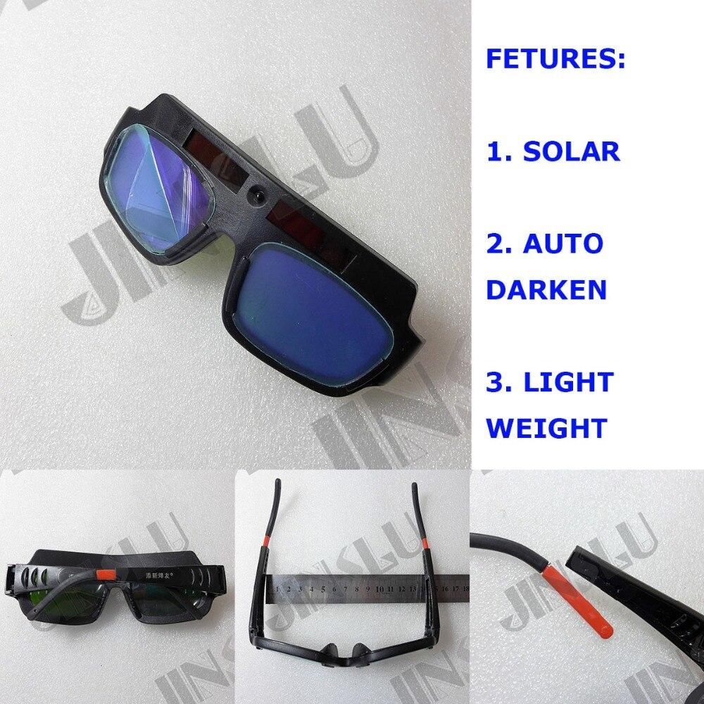 Solar Powered Auto Darkening Welding Helmet Mask Welding Glass Welding Glasses