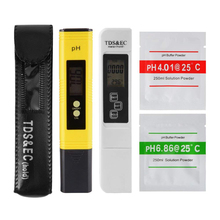 Professional TDS EC Tester PH Meter Digital Temp PPM Check Water Quality Purity for Filter Pool Aquarium Hydroponic AD083