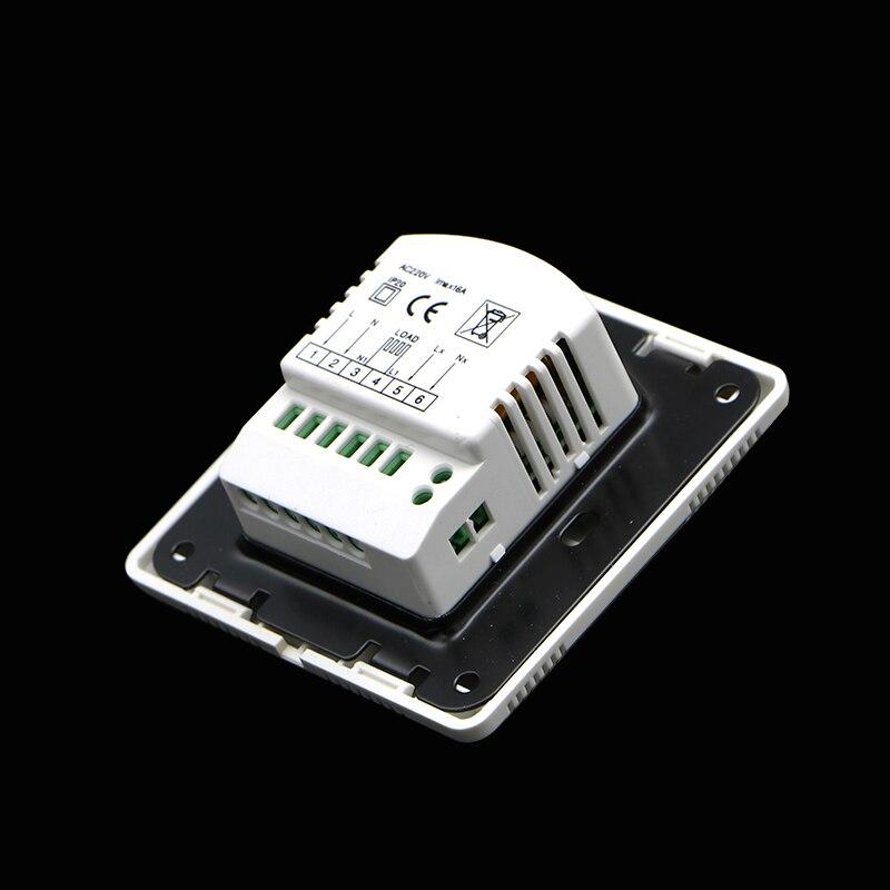 220 v Elektrische Fußbodenheizung System Raum Thermostat Strom ...