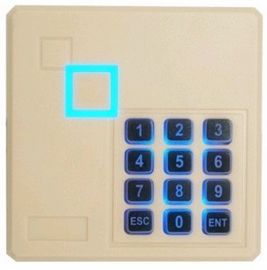 125Khz 12V RFID Reader Cards W/Speaker Keypad Security Entry Metal Door Proximity Smart ID Access Control Card Reader
