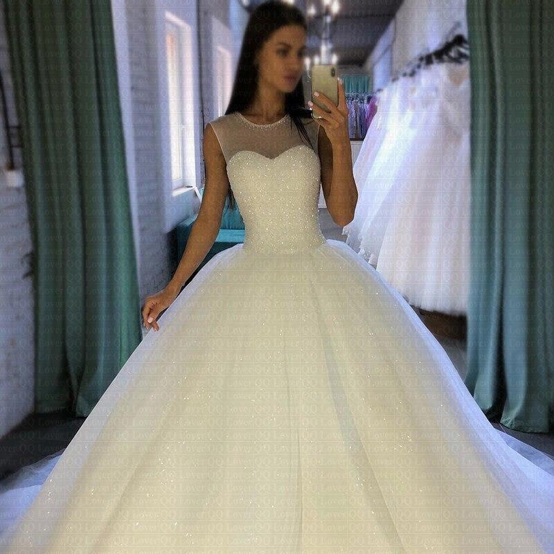 ac90155f1fe QQ Lover 2019 Elegant Luxury Lace Wedding Dress Vintage Plus Size Ball Gowns  Vestido De NoivaUSD 69.30-73.50 piece ...