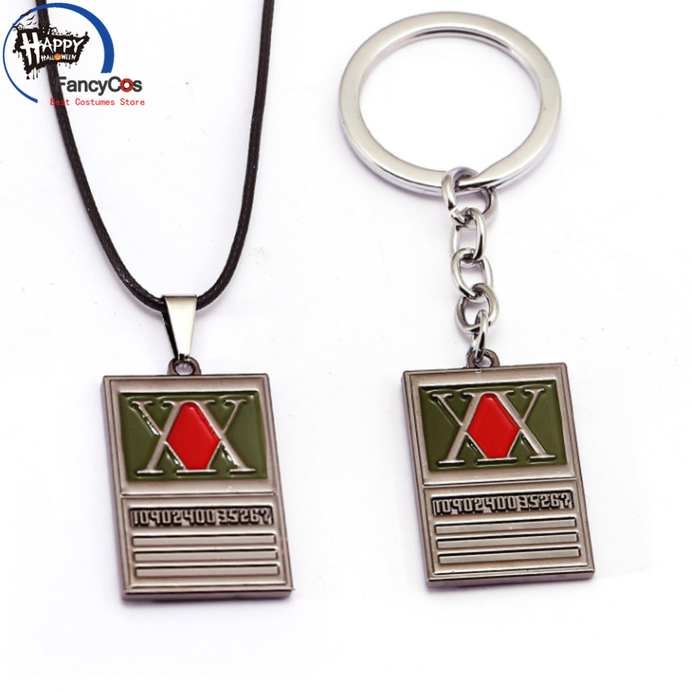 HUNTER HUNTER  GON FREECSS  Metal  necklace  Fancy Jewelry Costume Cosplay Halloween Movie