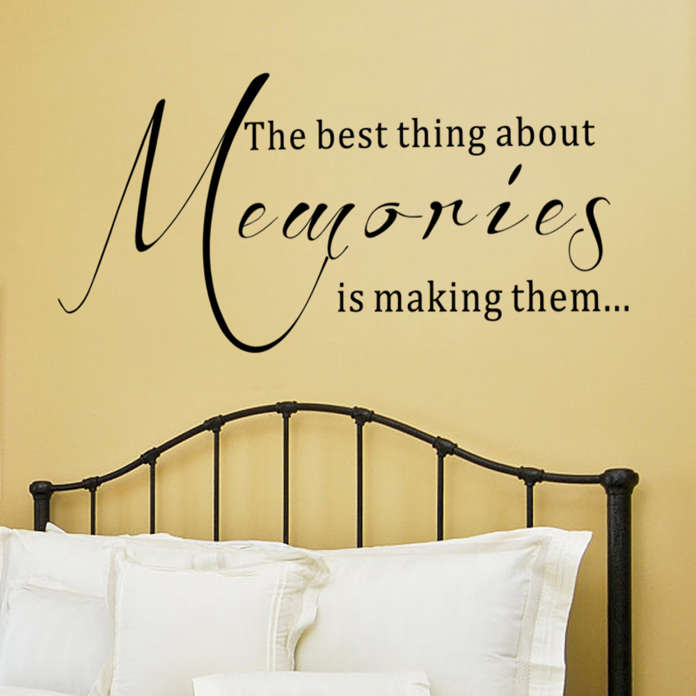 The Best Thing About Memories Is Making Them...Wall Decal Family ...