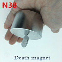 Free Shipping 1pcs N38 50x30mm Neodymium Magnet Super Strong Magnets 50 30 Round Neodimio Magnet Powerful