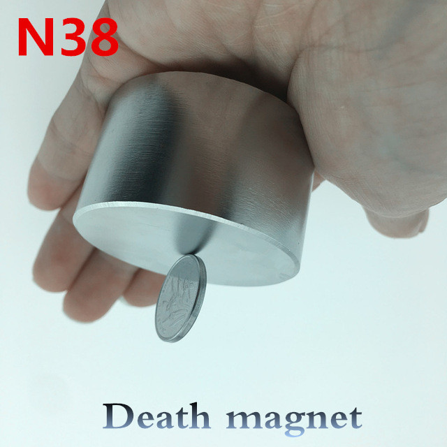Neodymium magnet 50x30 N38 rare earth super strong powerful round welding search permanent magnetic 50*30mm gallium metal disc powerfull pot magnet magnet super heavy magnetic hook holder neodymium rare earth dia 10mm hot sale 2pc