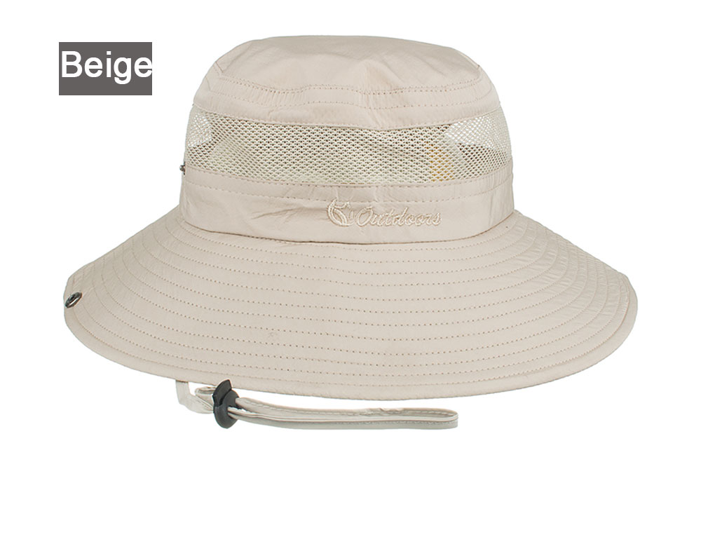 details for best value 100% quality AKIZON Summer Bucket Hats Fishing Wide Brim Hat UV Protection Cap ...