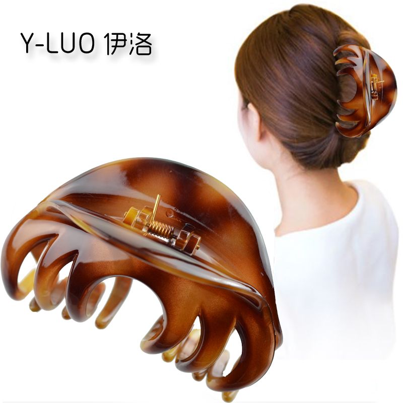 Women   headwear   cute hair clip for girls large hair claws ponytail holder vintage hair accessories for women