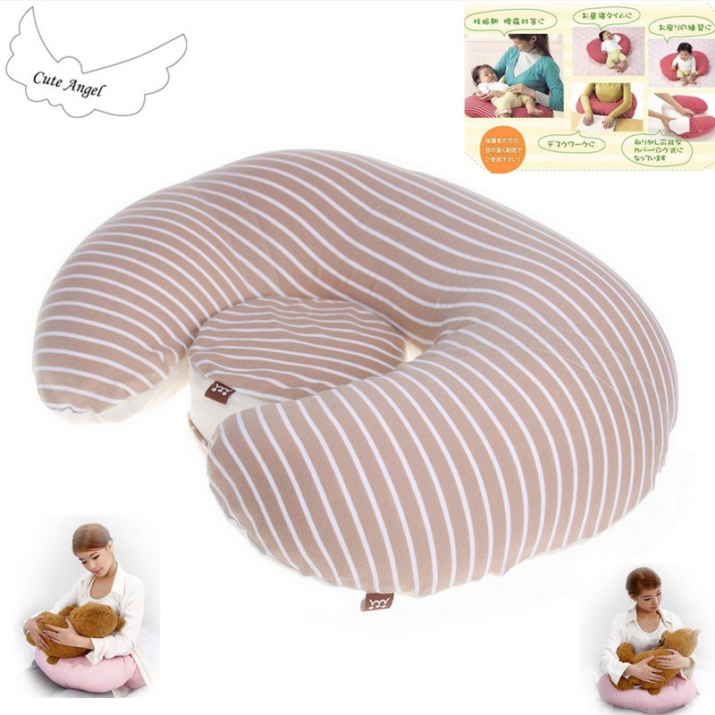 Multifunctional Detachable Nursing Pillow Breastfeeding Infant Baby Boppy Pillow Crawling Sitting Learning Pillow 64*48cm chic quality flamingo and lotus pattern flax pillow case(without pillow inner)