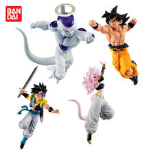 Original BANDAI Styling Super Dragon Ball GOKU VS 10 Freeza Trunks Android NO.19 21 Figura Brinquedos Brinquedos Bonecas Figurals(China)