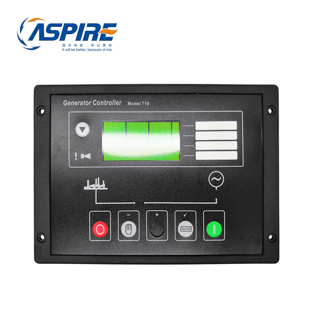 Diesel Generator Automatic Start Controller Module 710 Replacement For Control Panel DSE710
