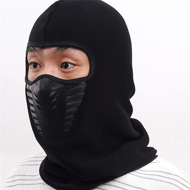 Cycling Winter Fleece Warm Full Face Cover Anti-dust Windproof Ski Mask Snowboard Hood Anti-dust Bike Thermal Balaclavas Scarf new winter warm scarf hat mens thermal fleece hood ski bike hiking unisex winter windproof face mask beanie caps mens