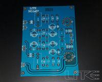 Free shipping 1pcs LS67 tube pre PCB blank board 5755 tube amplification
