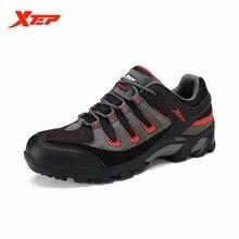Xtep мужские Водонепроницаемый туристические восхождение Сапоги и ботинки осень-зима резиновая Кроссовки Trail Hiker спортивным Обувь 986219179307