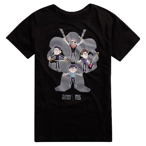 Fall Out Boy Teen Titans Go Tee Tshirt New MenS T Shirt Size S To 4Xl ...