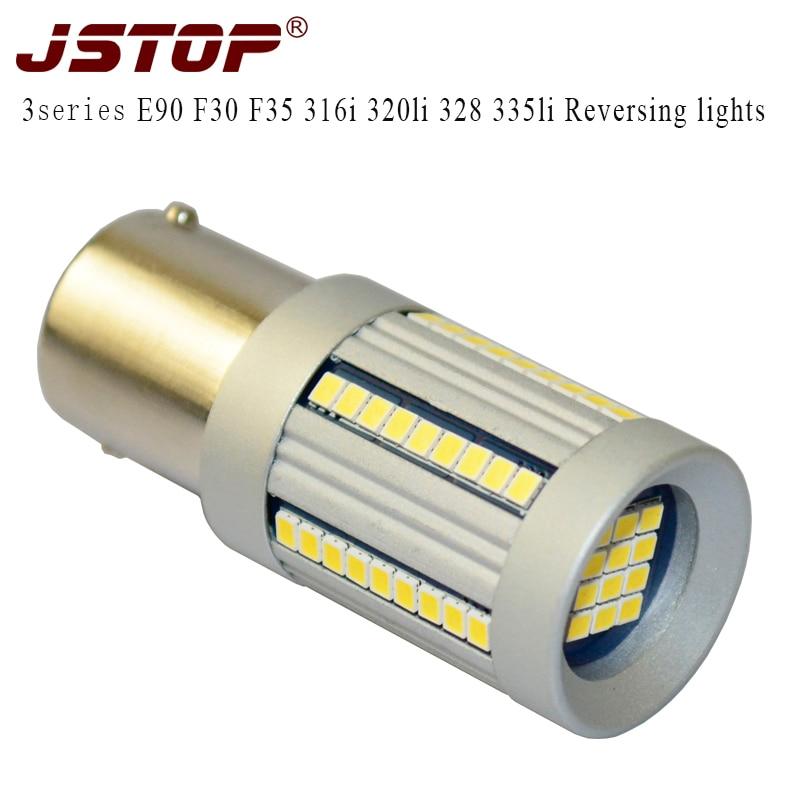 JSTOP 3series E90 F30 F35 316i 320li 328 335li led Reversing lights P21W 6000k led lamp 12v BA15S 1156 auto Canbus Reverse bulbs tesys k reversing contactor 3p 3no dc lp2k1201kd lp2 k1201kd 12a 100vdc lp2k1201ld lp2 k1201ld 12a 200vdc coil