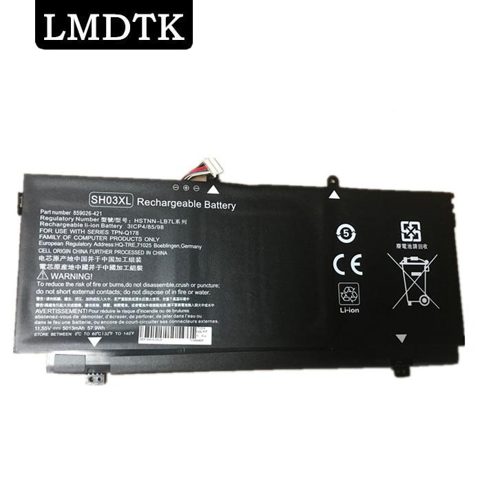LMDTK NEW LAPTOP BATTERY FOR HP Spectre x360 13 AC033DX Convertible PC 13 SH03XL SH03057XL TPN Q178 859356 855 HSTNN LB7L