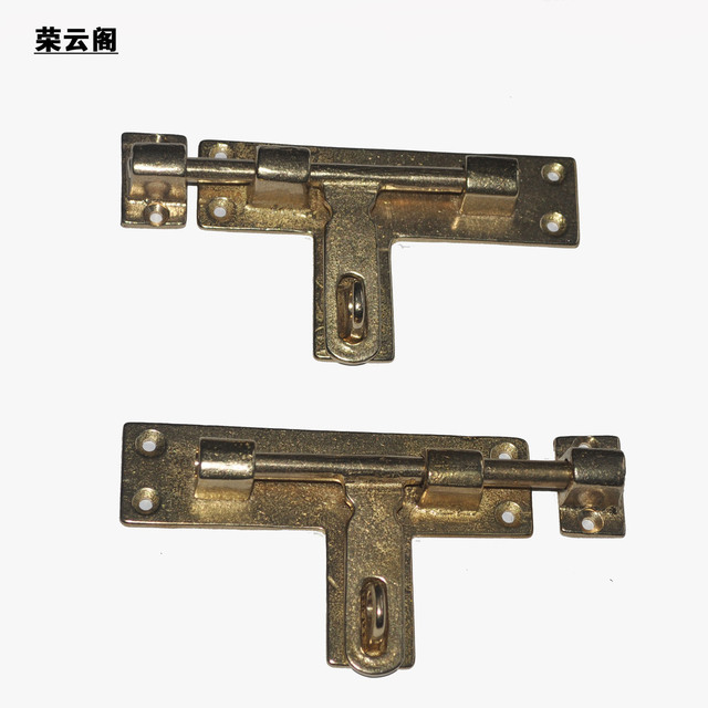 Cheap Antique door latch bolt pin door lock button nose section door  decoration inside and outside - Cheap Antique Door Latch Bolt Pin Door Lock Button Nose Section Door