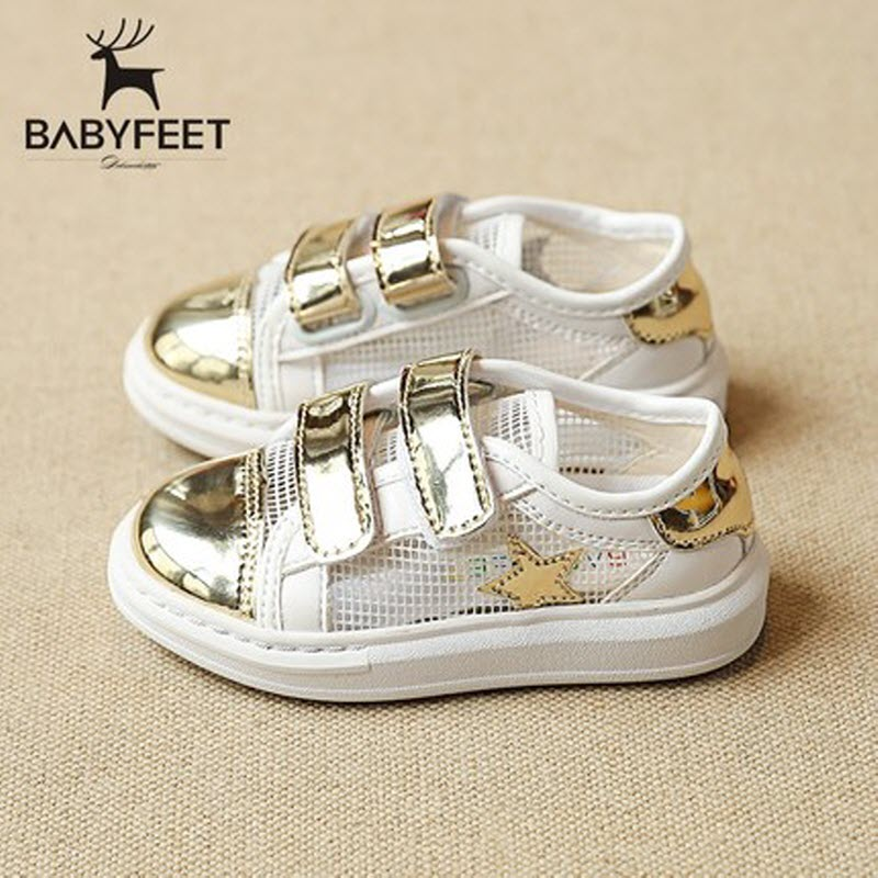 2017 Babyfeet children sneakers 1-3 years old Child baby boy and baby girl infant kids PU Breathable Shoes Flat Toddler shoes babyfeet summer cool toddler shoes 0 2 year old newborn baby girl