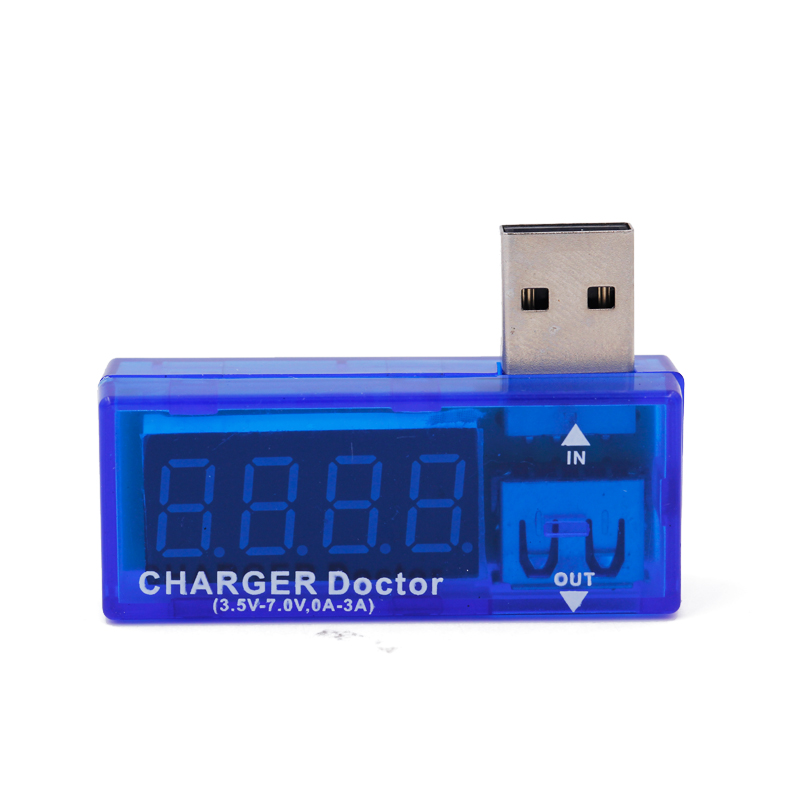 HTB1PWQuX3DD8KJjy0Fdq6AjvXXa6 LCD Screen Mini Creative Phone USB Tester Portable Doctor Voltage Current Meter Mobile Power Charger Detector 40% off