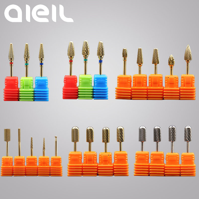 Carbide Nail Drill Bits Cutters For Manicure Tungsten Nail Drill Bits Manicure Machine Cutters For Nails Manicure Cutter Drill