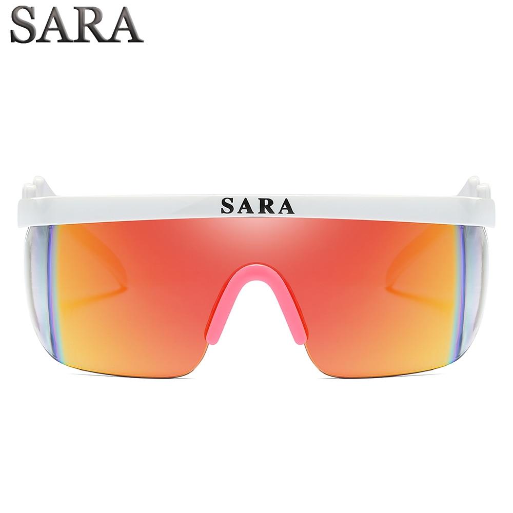 Outdoor Sports Windproof Sunglasses Man Reflective Coating Mirror Glasses Surround Eyewear